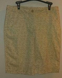 Kim Rogers floral Bermuda shorts